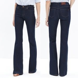 Madewell Flea Market Flare Kenner Wash Jeans